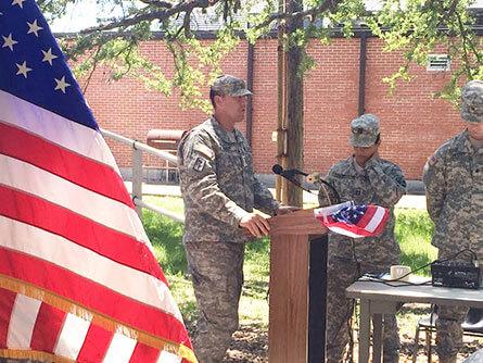 Lieutenant Colonel Brian V. Crupi's military service