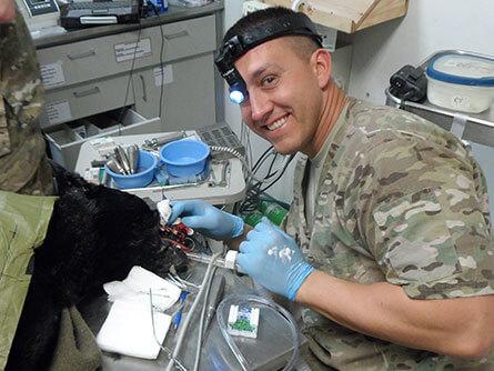 Lieutenant Colonel Brian V. Crupi's military service, medical care